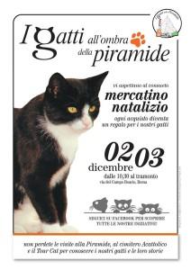 gatti a Piramide