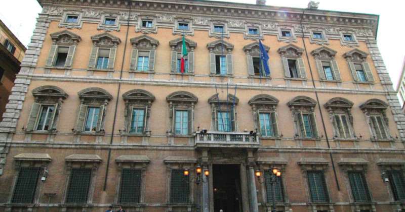 No 9 Colosseo best of the week: Palazzo Giustiniani