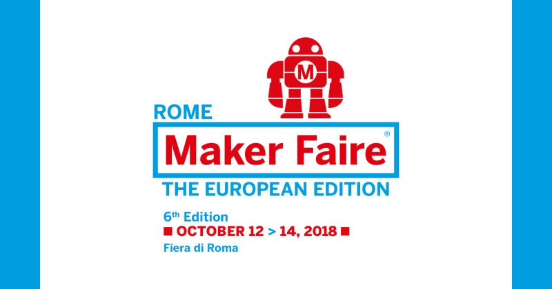 No 9 Colosseo best of the week: Maker Faire Rome